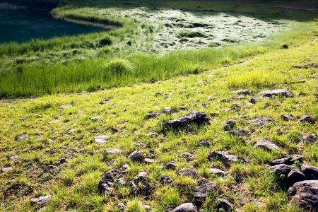 lake mountain Stock Photo - 17106611