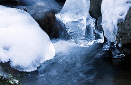 winter creek  Stock Photo - 17106230