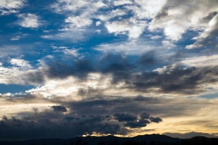 Dramatic sky Stock Photo - 17925849