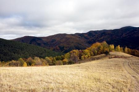Mountain landscape view Stock Photo