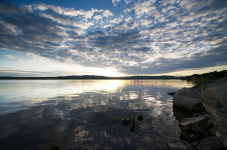Landscape lake Stock Photo - 17768004
