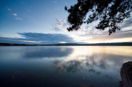 The lake landscape Stock Photo - 17767000