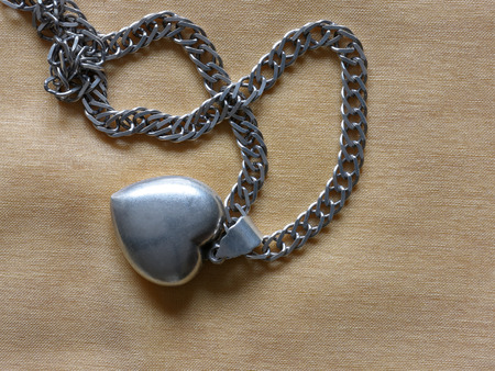 jewelle: Silver necklace with heart