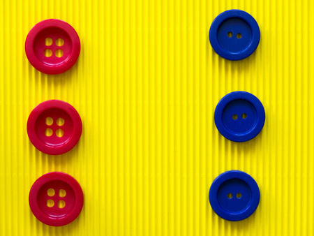 The buttons and texture photo