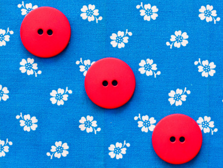 Sewing buttons photo