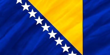 bosnia and  herzegovina: background of ripple Bosnia and Herzegovina flag
