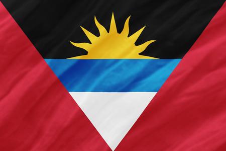 background of ripple antiguabarbuda flag
