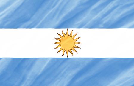background of ripple Argentina flag Stock Photo