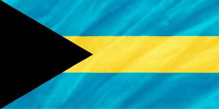 background of ripple Bahamas flag