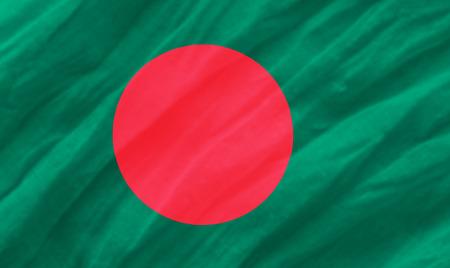 background of ripple bahgladesh flag Stock Photo