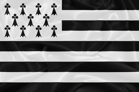 brittany: Flag of Brittany, France