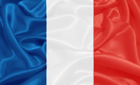 bandera francia: bandera de Francia Foto de archivo