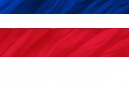 costa: Costa Rica flag Stock Photo