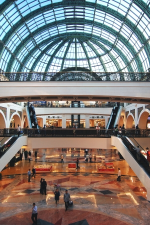 bright center: Mall of the Emirates, the leisure, entertainment and shopping destination  Dubai - UAE