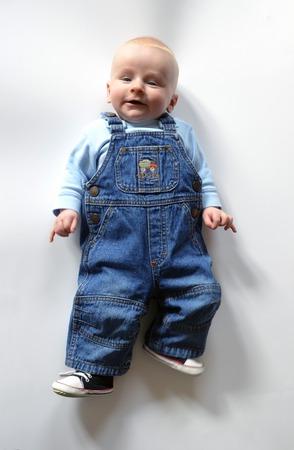 dedo meÑique: bebé decadente con rosado que salen Foto de archivo