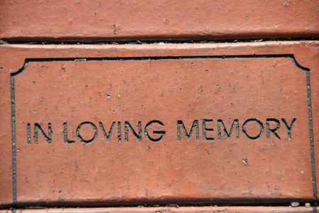 in loving memory: In loving memory Stock Photo