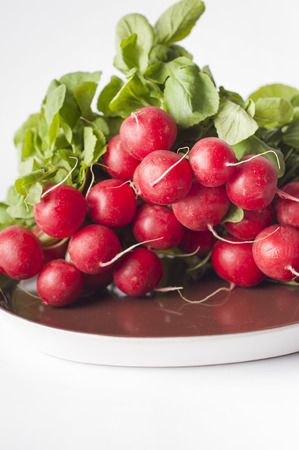 radishes: A bunch of radishes
