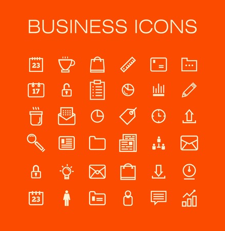 bank book: Vector business universal Outline Icons For Web and Mobile. Illustration