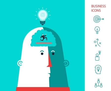 advisor: Business man who run in the head and generated ideas.