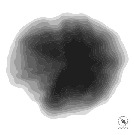 black light: Abstract step black  light modern  vector background. Illustration