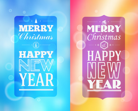 happy holidays: Holidays. Frame happy merry christmas - new year