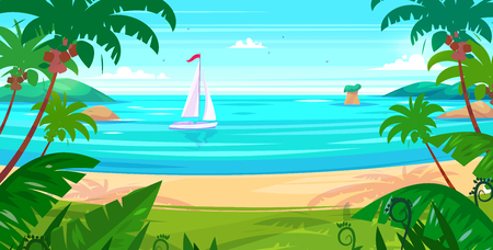 holidays: Holidays by the sea Illustration