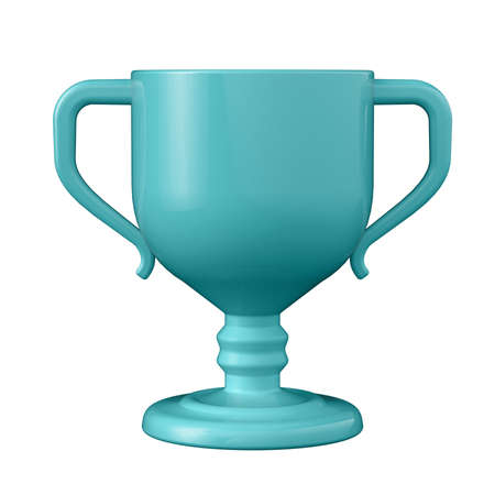 3D illustration. Cup in cartoon style not white background. Well suited for a landing page, mobile app, or website. 版權商用圖片