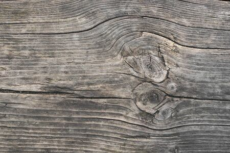 Texture of old weathered wooden board. natural pattern with copy space for your design. Blank template. Imagens