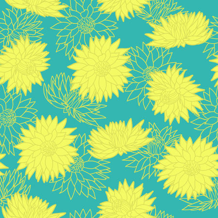 rt: Floral seamless pattern  Vector illustration  Background   Floral shapes  Endless texture can be used for printing onto fabric and paper or scrap booking
