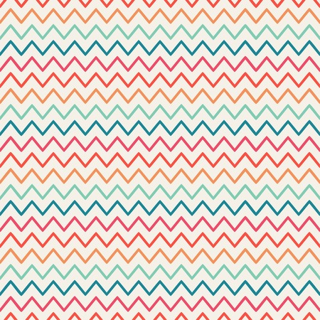 Vector retro chevron zigzag stripes geometric seamless pattern. Vintage hipster striped. For wallpaper, pattern fills, web page background, blog. Stylish graphic texture for your design. Vectores