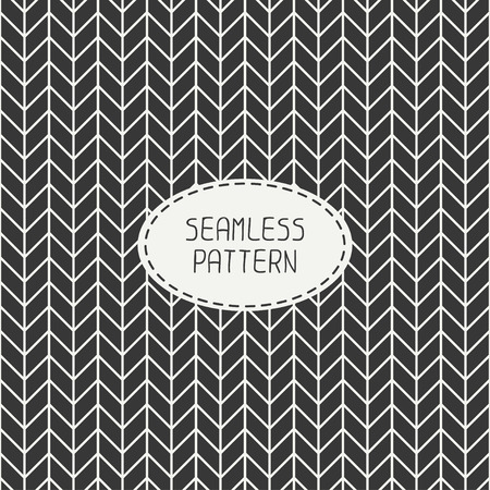 Vector retro chevron zigzag stripes geometric seamless pattern. Vintage hipster striped. For wallpaper, pattern fills, web page background, blog. Stylish graphic texture for your design. Illustration