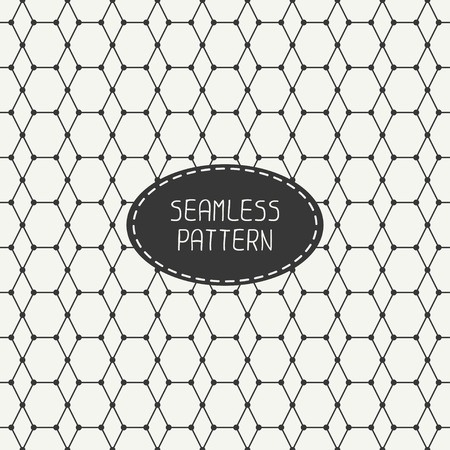 background tile: Geometric monochrome abstract seamless polygon pattern. Wrapping paper. Paper for scrapbook. Tiling. Vector illustration. Background. Graphic texture. Optical illusion effect.