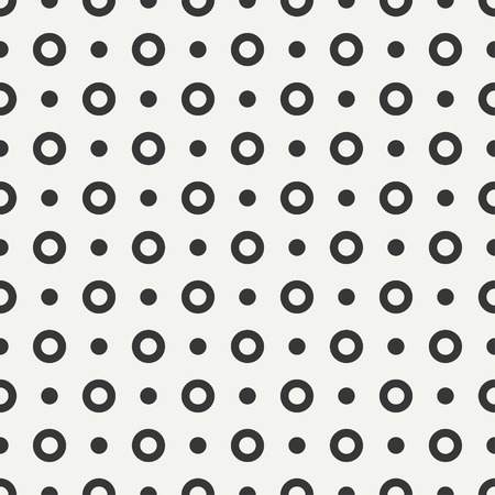 original circular abstract: Geometric line monochrome abstract hipster seamless pattern with round, circle. Wrapping paper. Scrapbook paper. Tiling. Vector illustration. Background. Graphic texture for design, wallpaper.