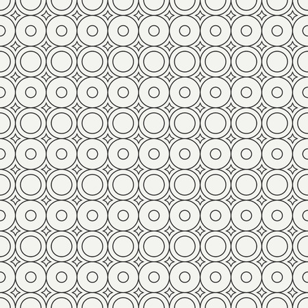 graphic texture: Geometric line monochrome abstract hipster seamless pattern with round, circle. Wrapping paper. Scrapbook paper. Tiling. Vector illustration. Background. Graphic texture for design, wallpaper.