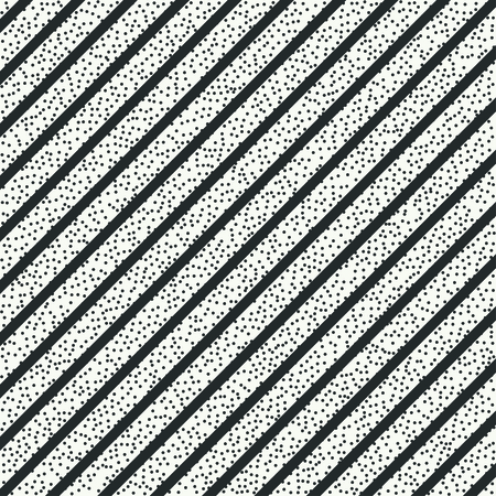disposed: Geometric abstract diagonal stripes pattern. Vintage hipster striped. Wrapping paper. Scrapbook paper. Vector illustration. Background. Graphic texture with randomly disposed spots.
