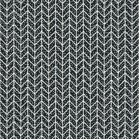 disposed: Geometric abstract chevron zigzag stripes pattern. Hipster striped. Wrapping paper. Scrapbook paper. illustration. Background. Graphic texture with randomly disposed spots.