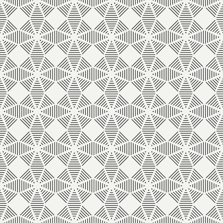 graphic texture: Geometric line monochrome abstract hipster seamless pattern with triangle. Wrapping paper. Scrapbook paper. Tiling. Vector illustration. Background. Graphic texture for design, wallpaper.