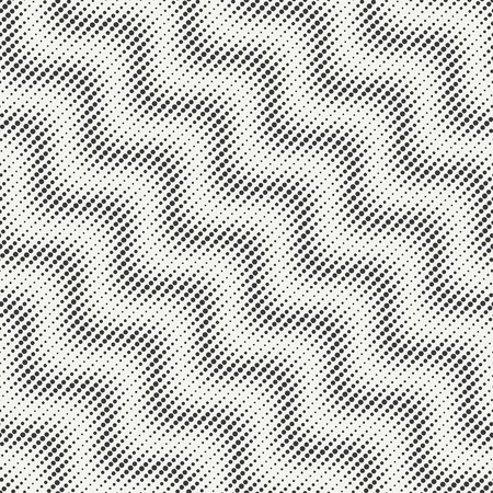 disposed: Geometric abstract chevron zigzag stripes pattern. Wrapping paper. Scrapbook paper. Vector illustration. Background. Graphic texture with randomly disposed spots. Dotted chevrons. Circles. Illustration
