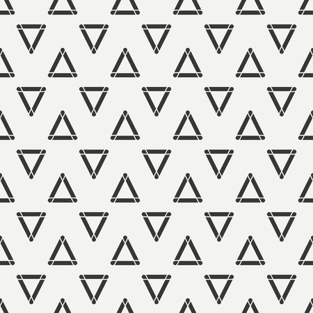 scrapbook paper line: Geometric line monochrome abstract hipster seamless pattern with triangle. Wrapping paper. Scrapbook paper. Illustration