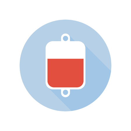 Blood Transfusion. Intravenous Therapy System Icon. Blood Type Rhesus Donor Theme. Sign and Symbol.