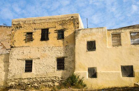 madina: Entrance to Madina, Fes, Morocco Stock Photo