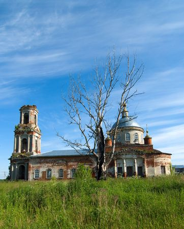 Preobrazhenskiy church in village Kvashenki of Taldomsky region of the Moscow area