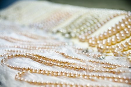 pearls necklace  photo
