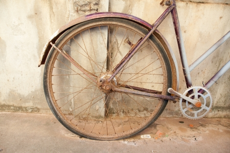 Vintage bicycle  photo