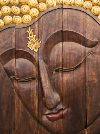 wood carving: Wood Carved with Thai Style  Editorial