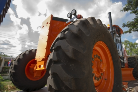agriculturalist: Agriculture - tractor