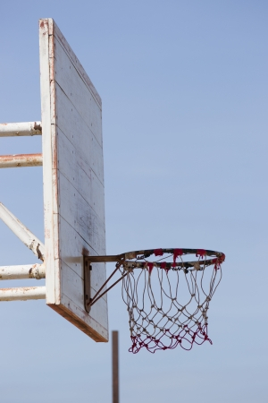 Outdoor Basketball With Hoop  photo