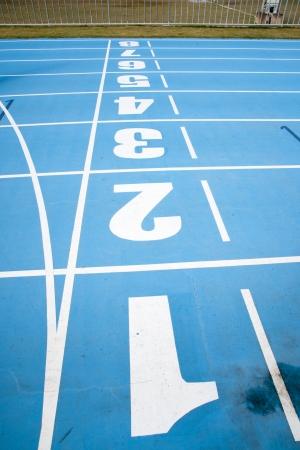 5 10: racetrack Stock Photo