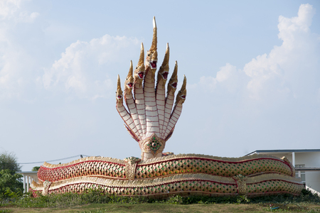 Buddhist Temple statue Stock Photo