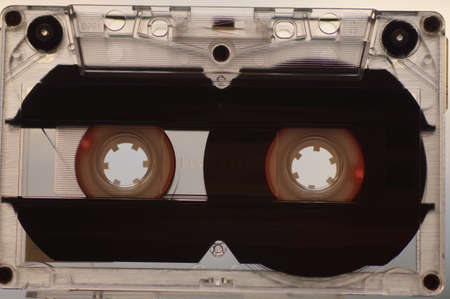 Audio cassette for playback in a tape recorder - manufactured in the 90s